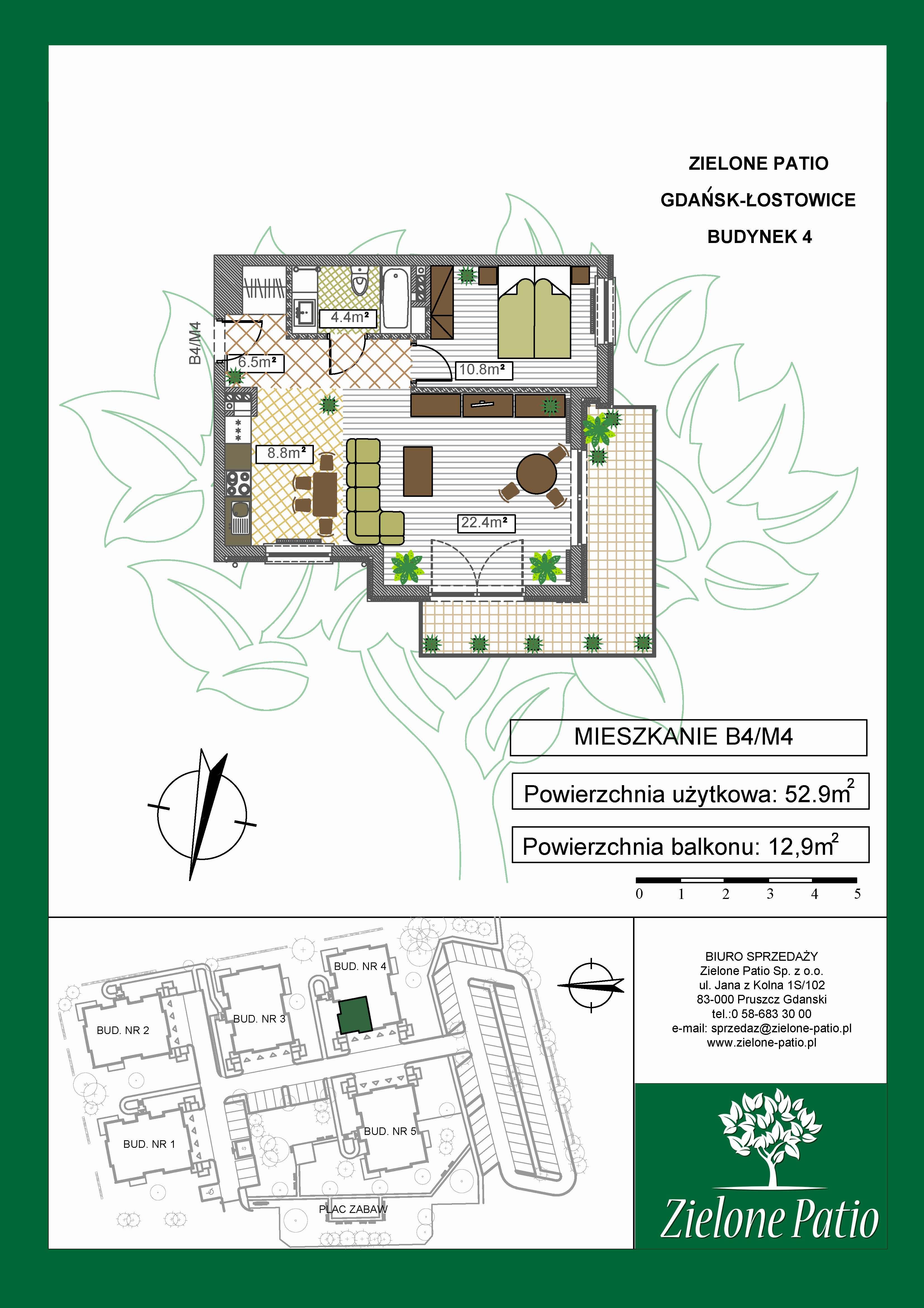 Plan M4 Zielone Patio, Budynek nr 4