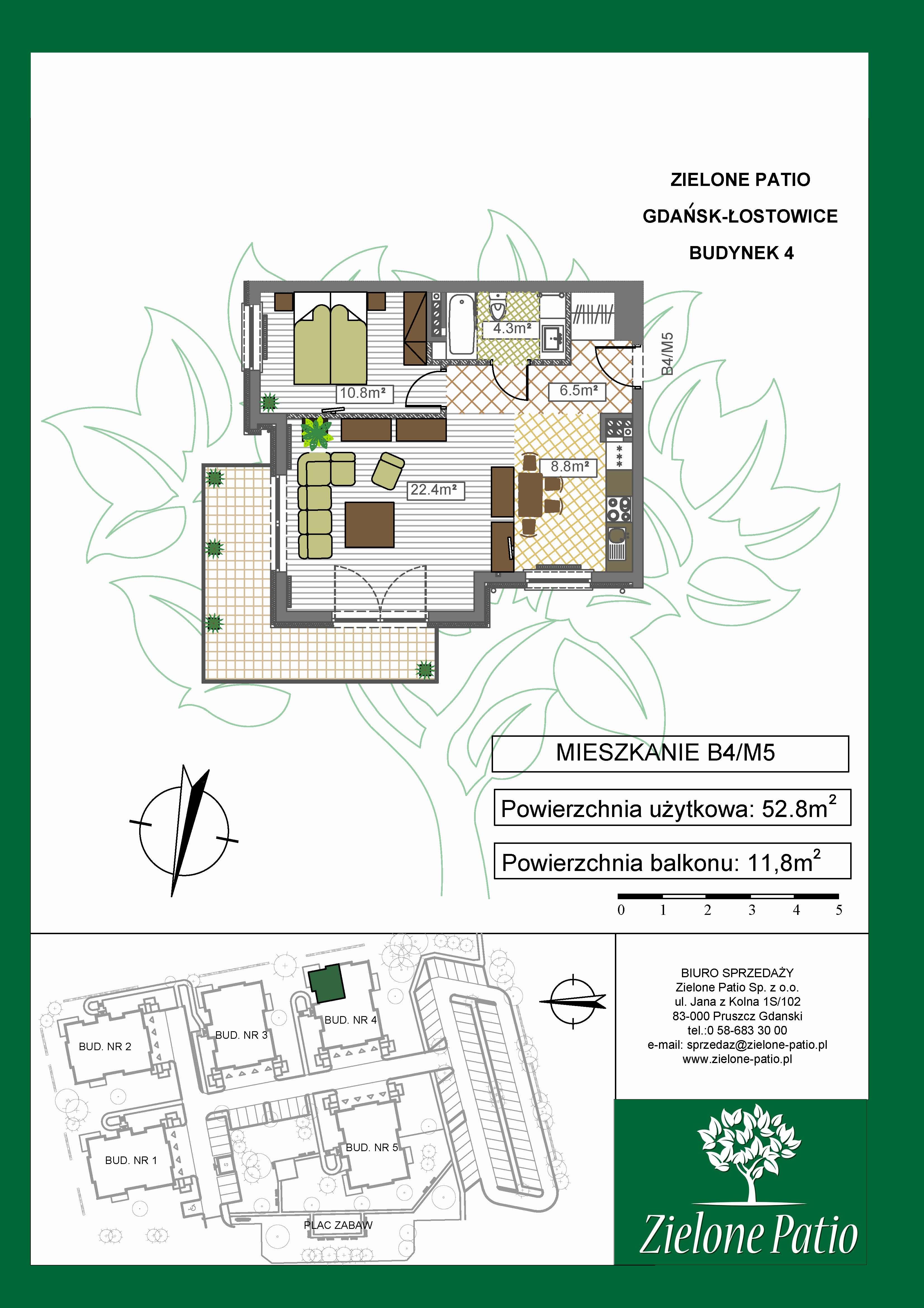 Plan M5 Zielone Patio, Budynek nr 4