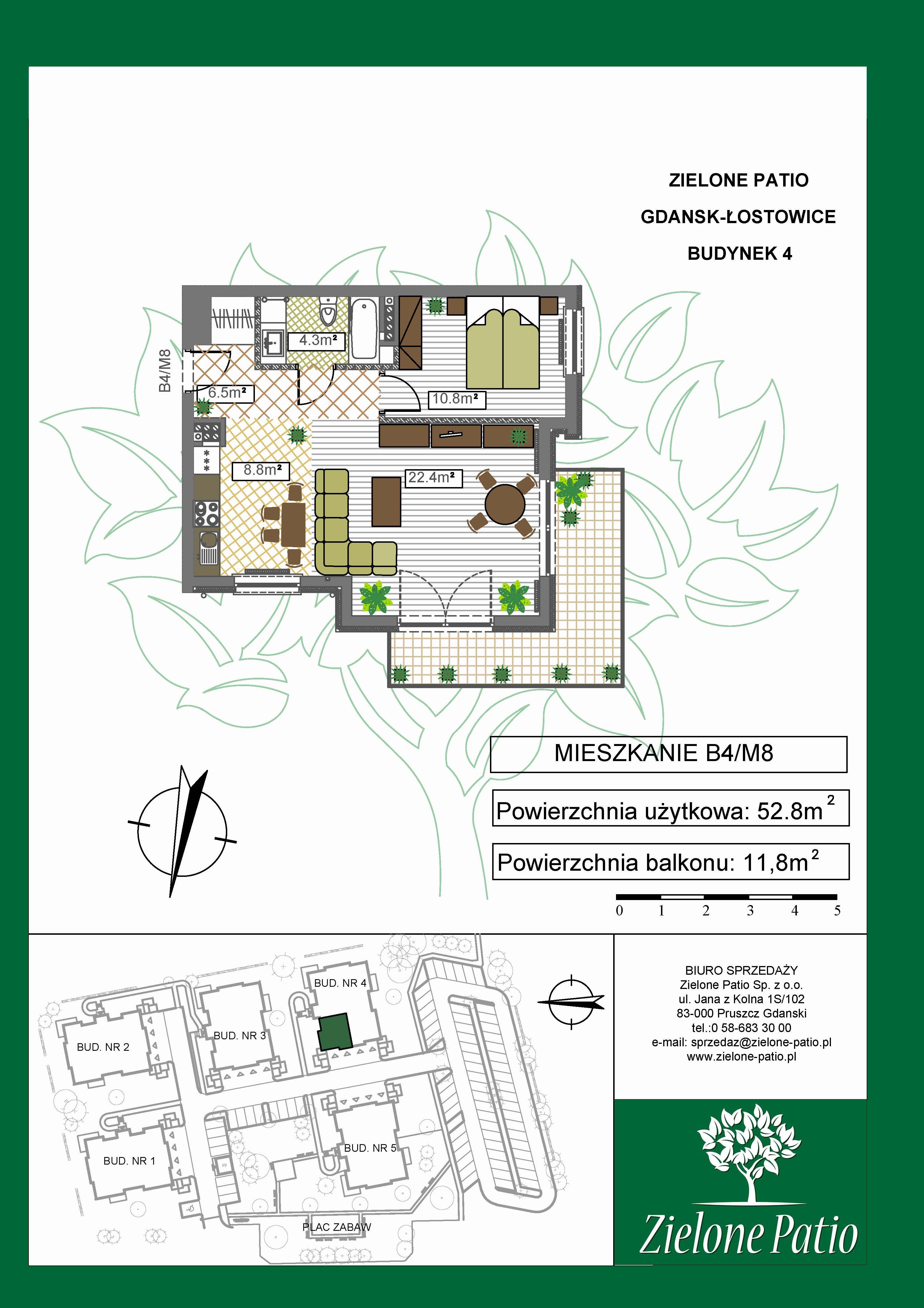 Plan M8 Zielone Patio, Budynek nr 4