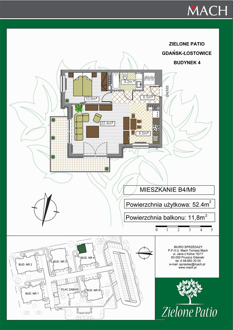 Plan M9 Zielone Patio, Budynek nr 4