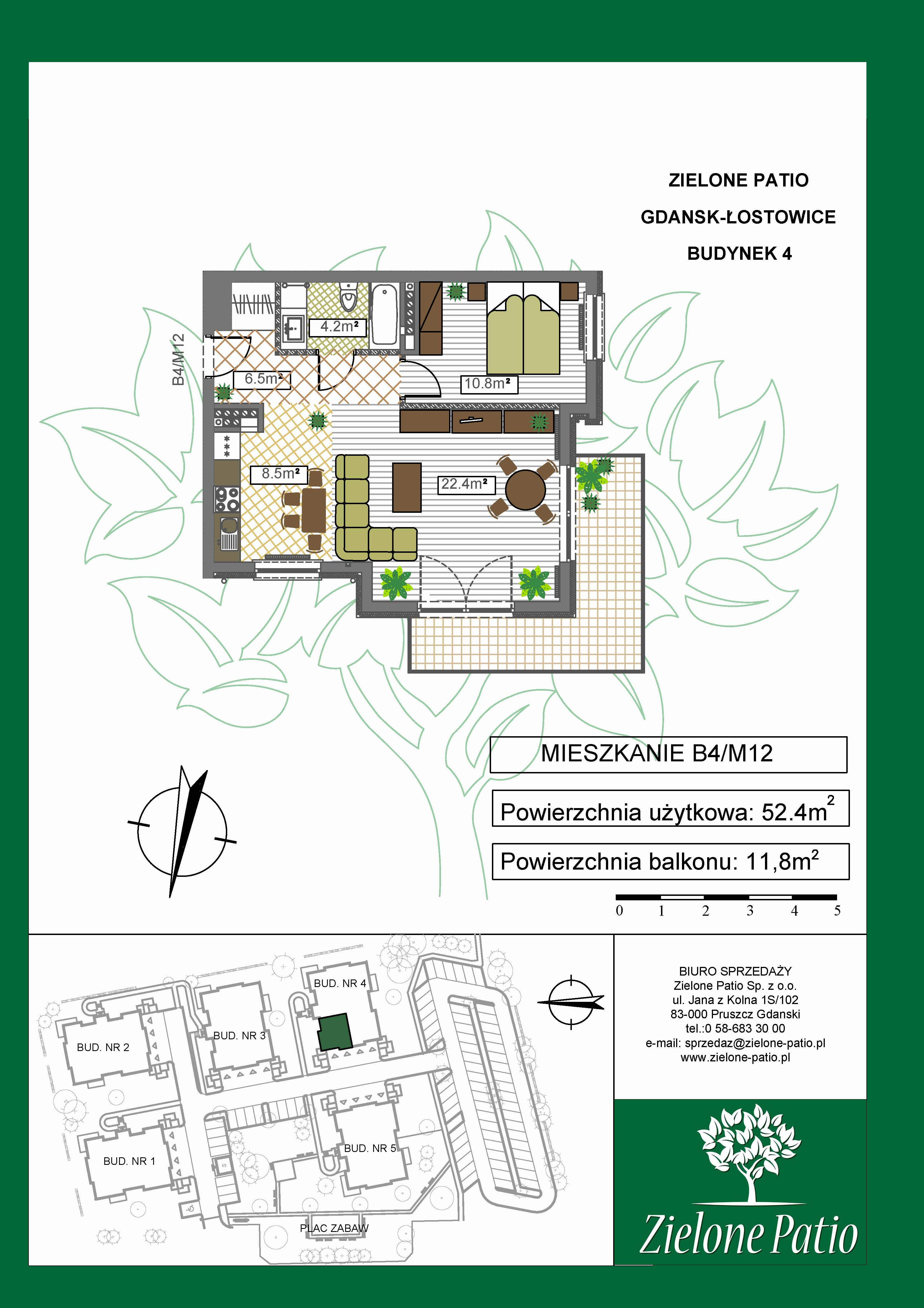 Plan M12 Zielone Patio, Budynek nr 4