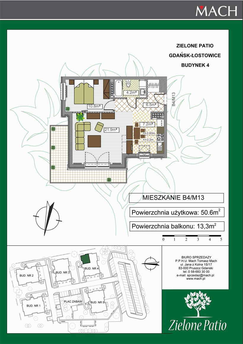 Plan M13 Zielone Patio, Budynek nr 4