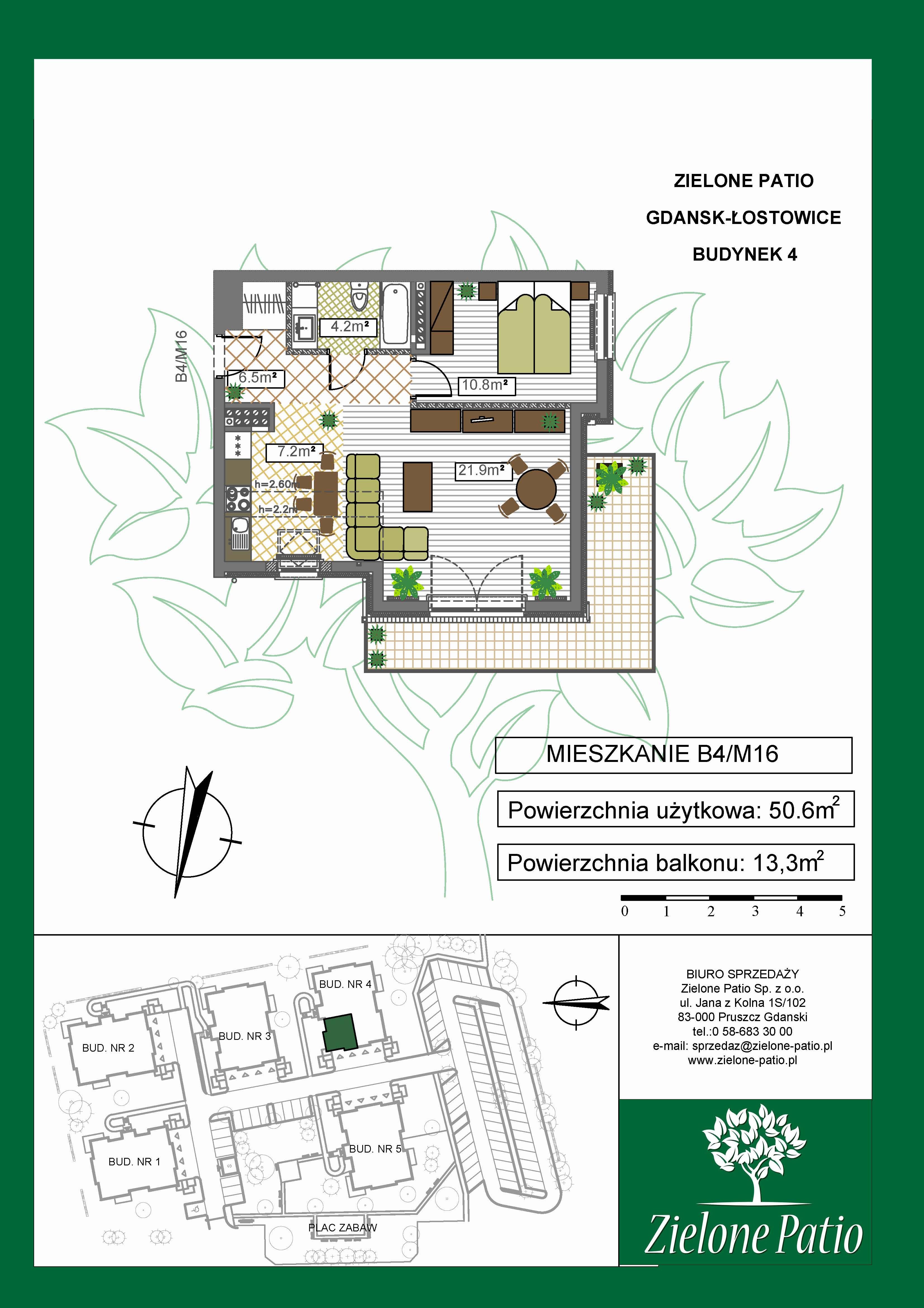 Plan M16 Zielone Patio, Budynek nr 4