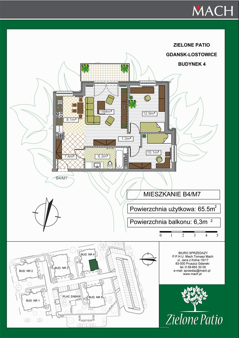Plan M7 Zielone Patio, Budynek nr 4