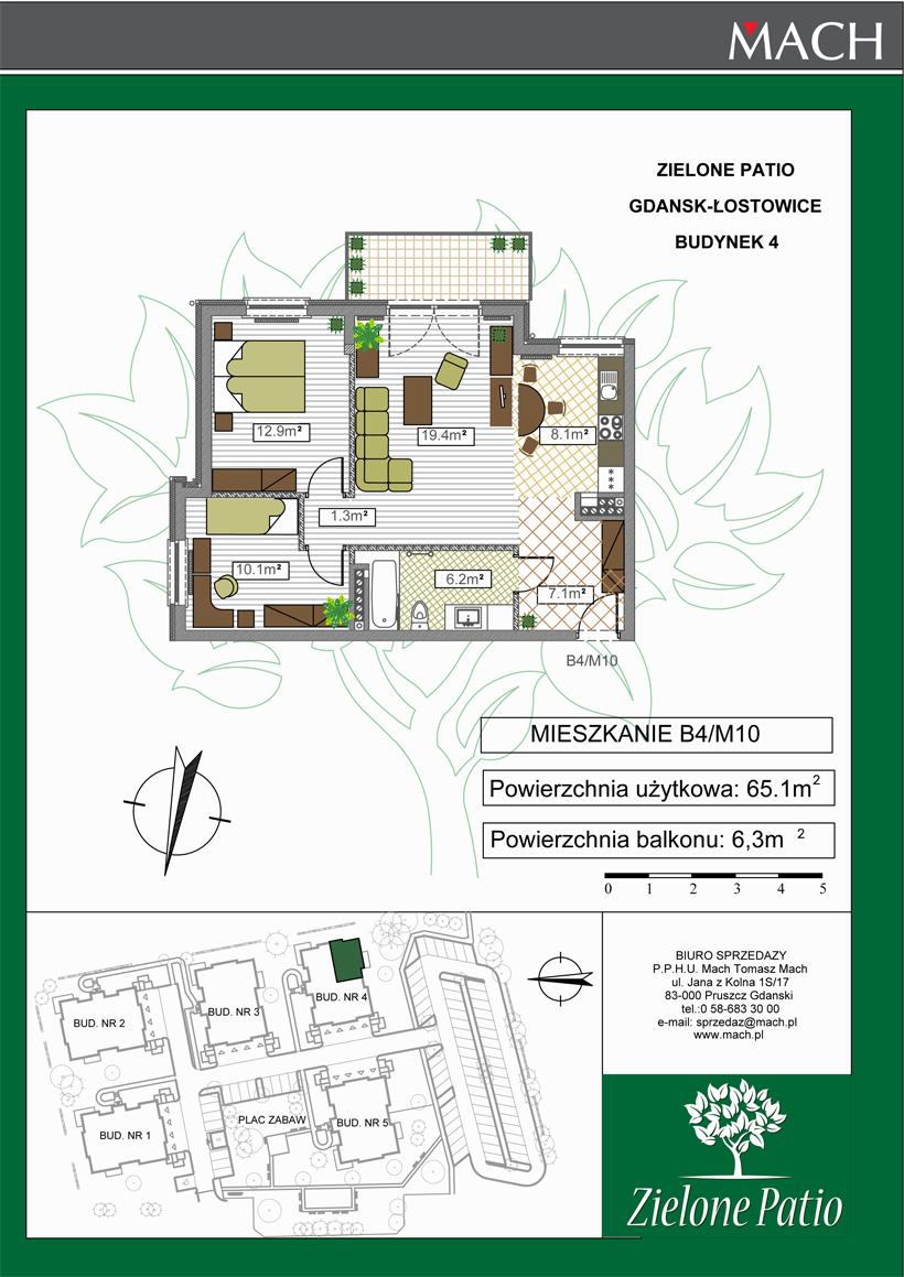 Plan M10 Zielone Patio, Budynek nr 4