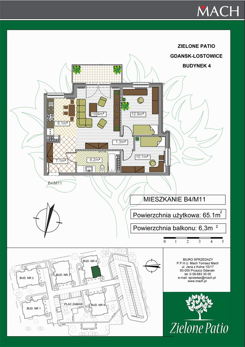 Plan M11 Zielone Patio, Budynek nr 4