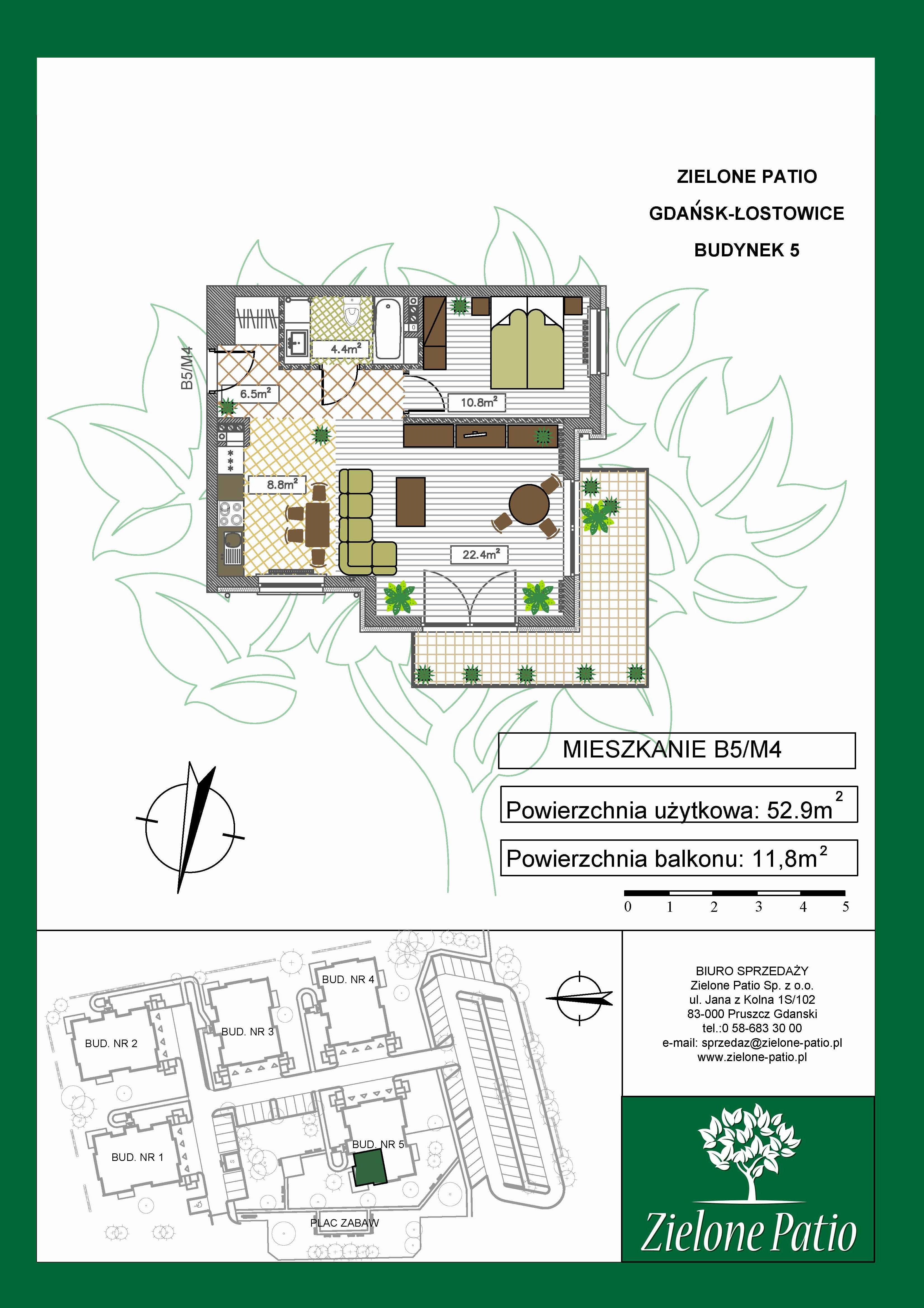 Plan M4 Zielone Patio, Budynek nr 5