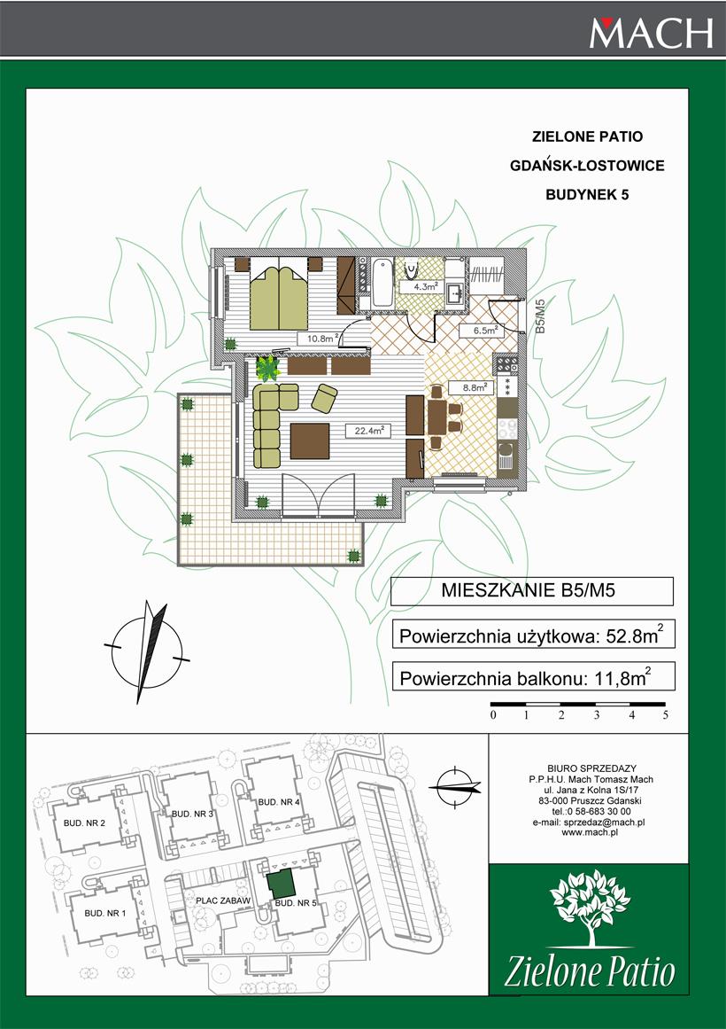 Plan M5 Zielone Patio, Budynek nr 5