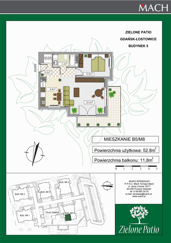 Plan M8 Zielone Patio, Budynek nr 5