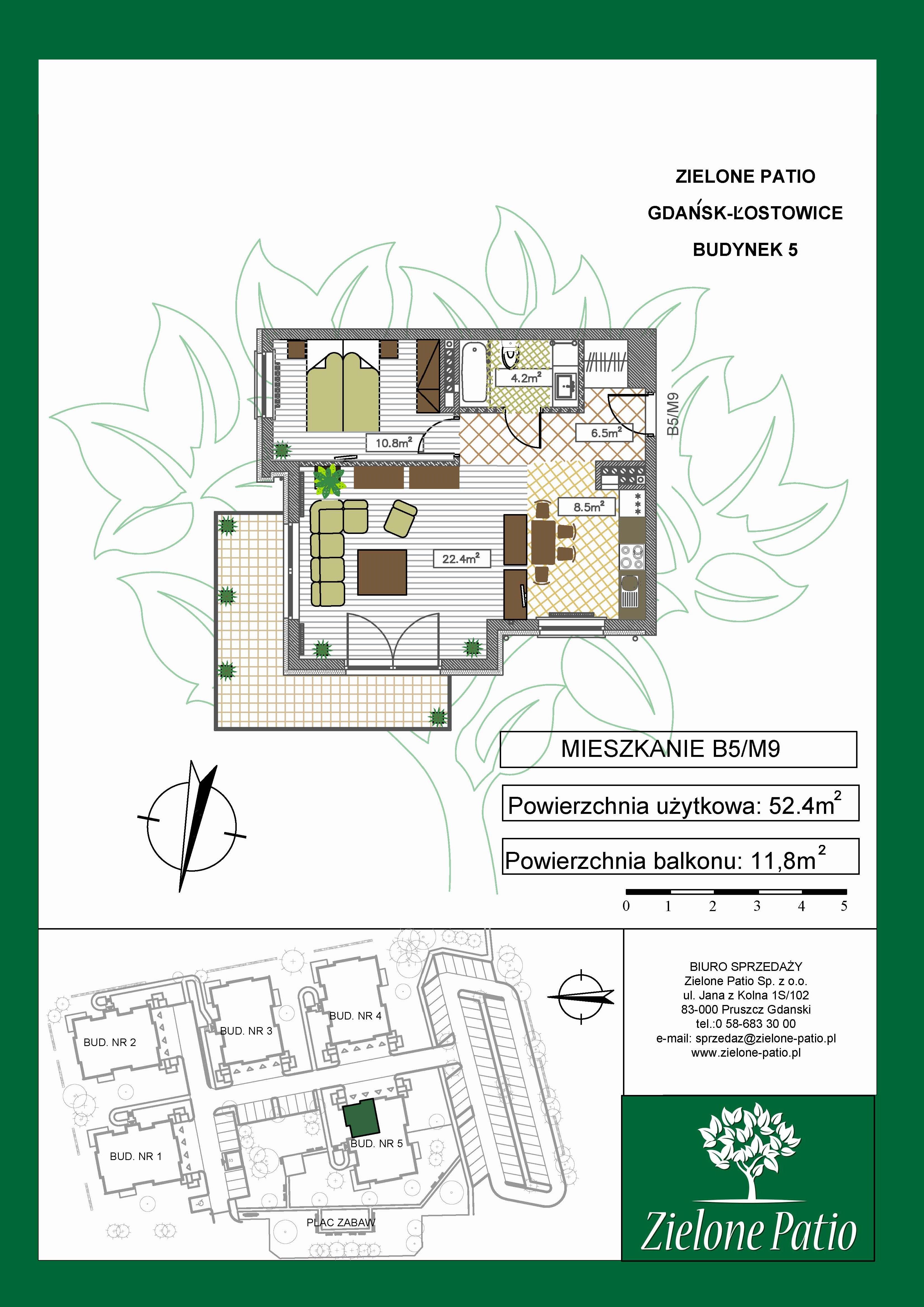 Plan M9 Zielone Patio, Budynek nr 5
