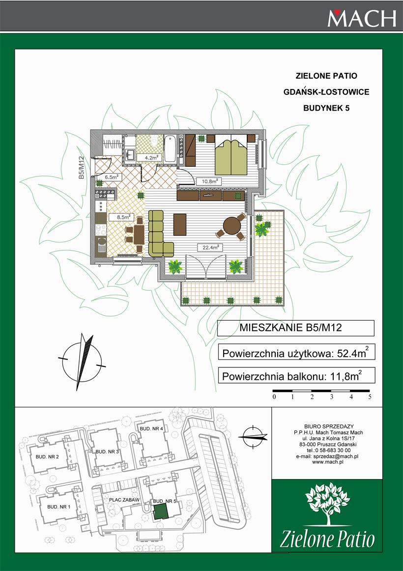 Plan M12 Zielone Patio, Budynek nr 5