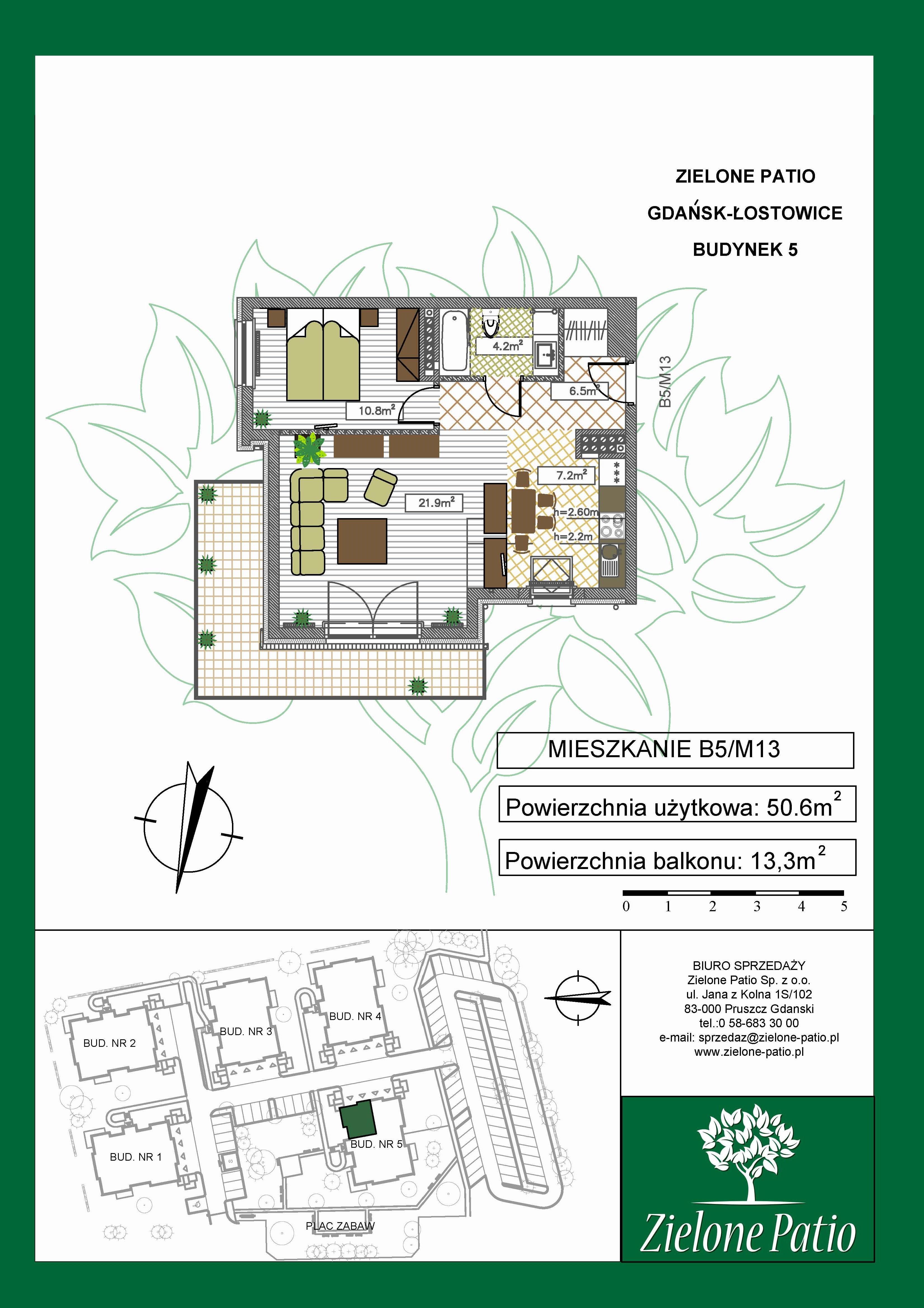 Plan M13 Zielone Patio, Budynek nr 5