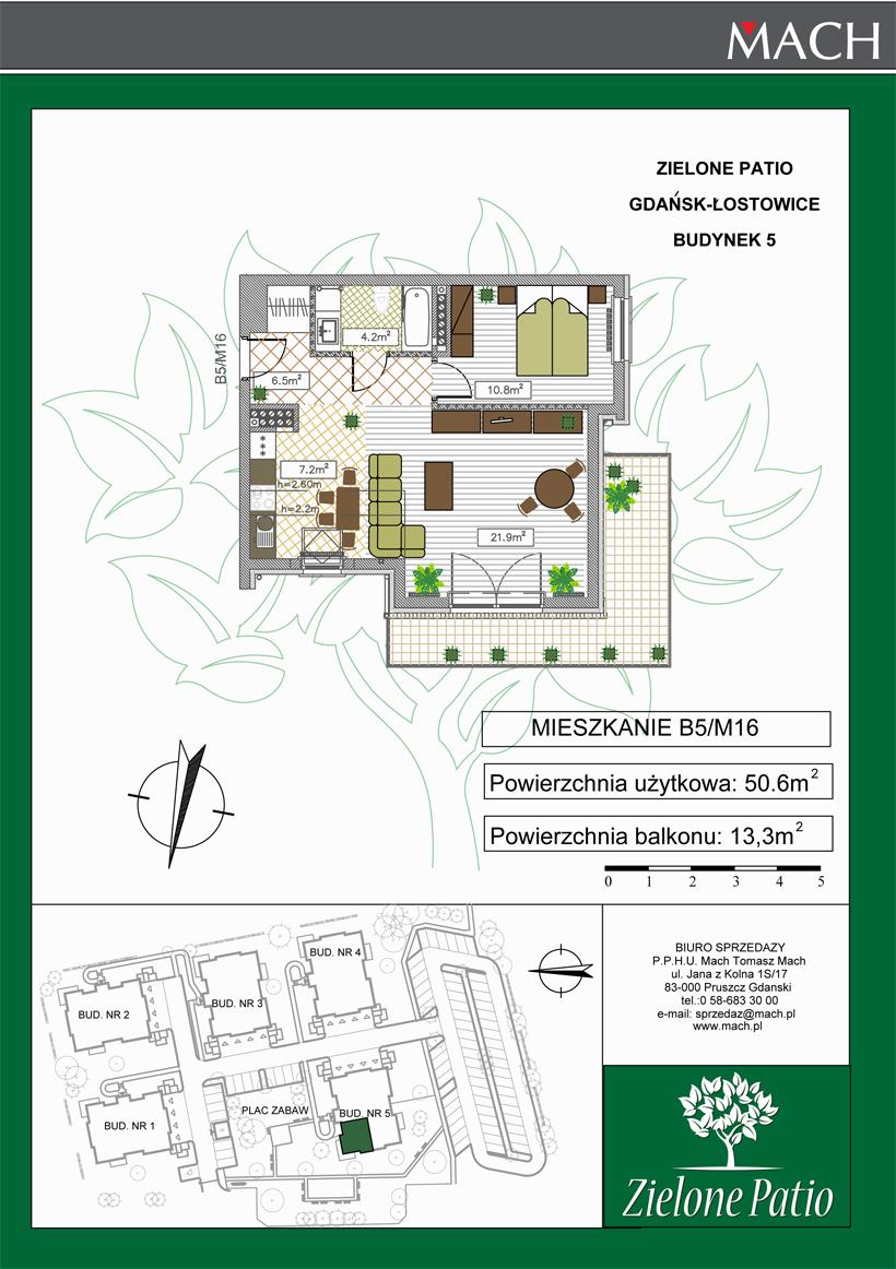 Plan M16 Zielone Patio, Budynek nr 5
