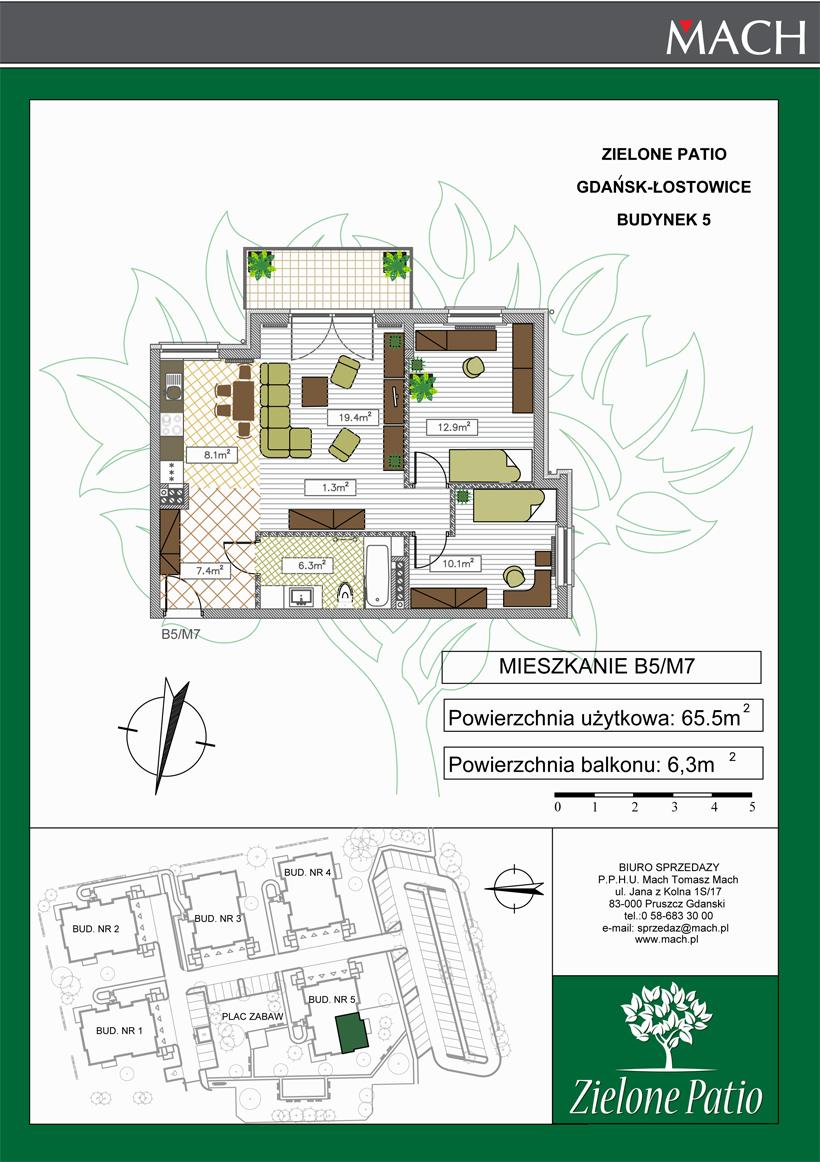 Plan M7 Zielone Patio, Budynek nr 5