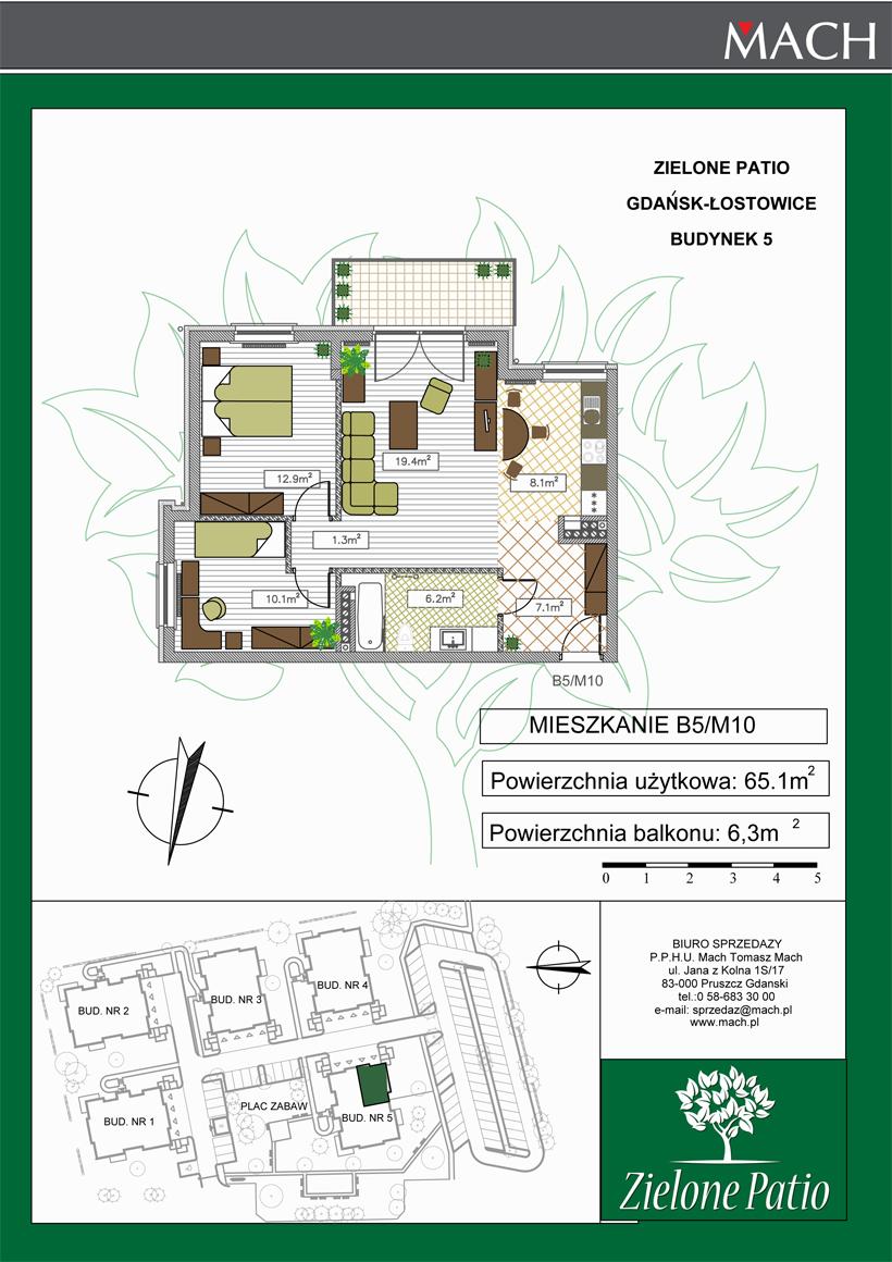 Plan M10 Zielone Patio, Budynek nr 5